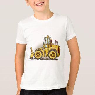 T-shirt de garçons de compacteur de sol