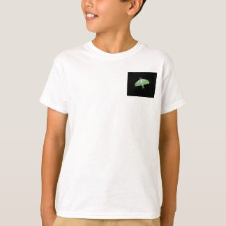 T-shirt de garçons de mite de Luna