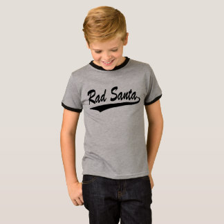 T-shirt de garçons de rad Père Noël