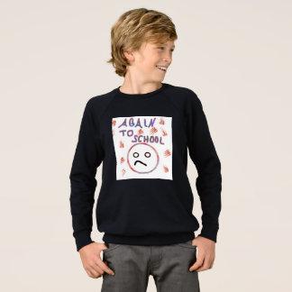 """T-shirt de garçons """"encore à l'école """""""