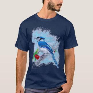 T-shirt de geai bleu