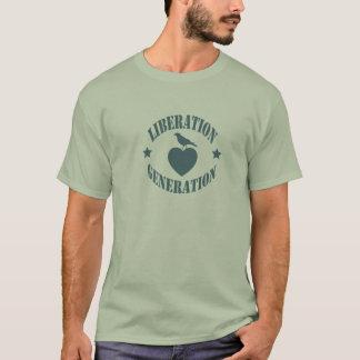T-shirt de génération de libération