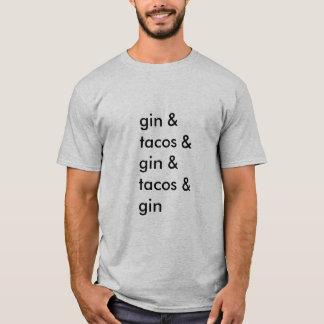 T-shirt de genièvre et de tacos (hommes de base)