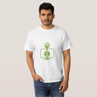 T-shirt de gestion de fortunes et de taux de