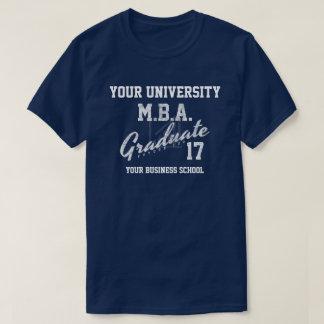 T-shirt de Gfit d'obtention du diplôme d'école de