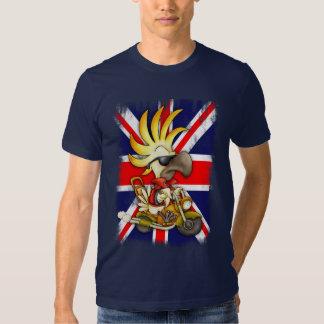 T-shirt de gigaoctet, T-shirt d'Union Jack avec le