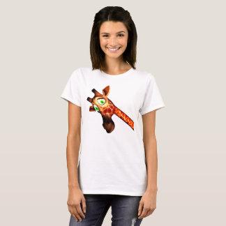 T-shirt de girafe
