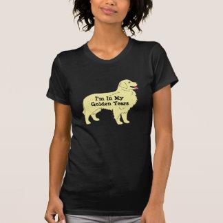 T-shirt de golden retriever