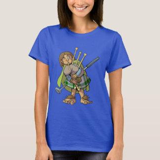 T-shirt de golfeur de barde de Halfling