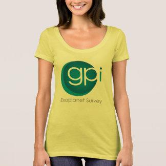 T-shirt de GPIES (cou du scoop des femmes)