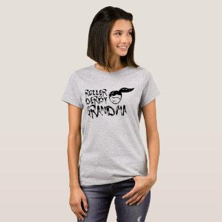T-shirt de grand-maman de Derby de rouleau