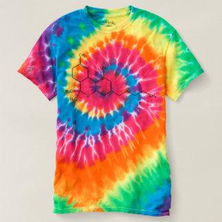 T-shirt de graphique de formule chimique du