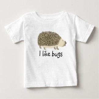 T-shirt de graphique de porc de haie d'enfants