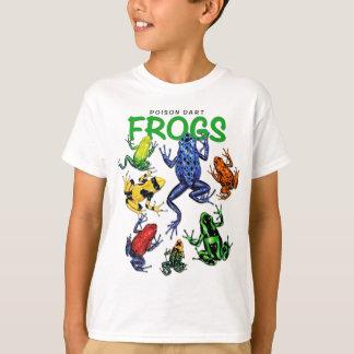 T-shirt de grenouille de dard de poison