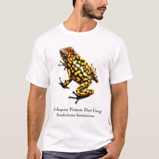 T-shirt de grenouille de dard de poison de