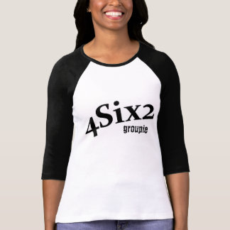 T-shirt de GROUPIE de logo des dames 4Six2