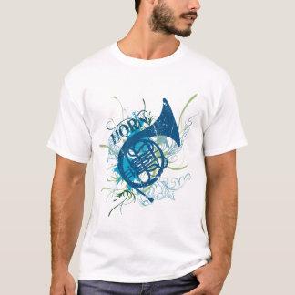 T-shirt de grunge de cor de harmonie