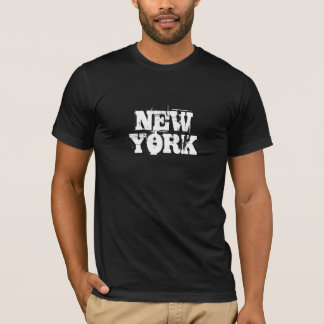 T-shirt de grunge de New York