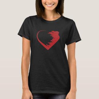 T-shirt de guerrier d'amour