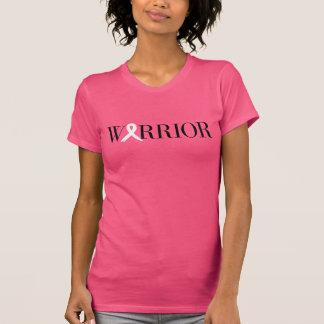 T-shirt de guerrier de cancer du sein