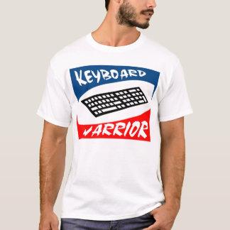 T-shirt de guerrier de clavier
