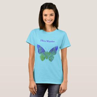 T-shirt de guerrier de fibromyalgie pour des