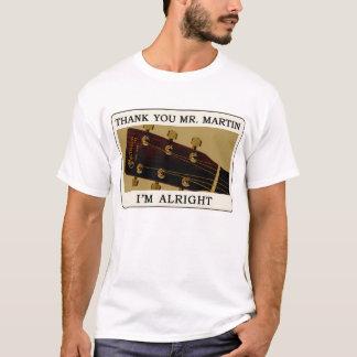 T-shirt de guitare de Bluegrass - M. Martin de