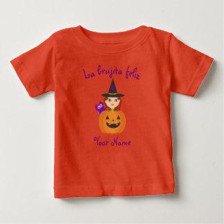 """""""T-shirt de Halloween de la sorcière heureuse"""" T-shirt Pour Bébé"""