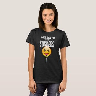 T-shirt De Halloween Emoji de langue chemise drôle