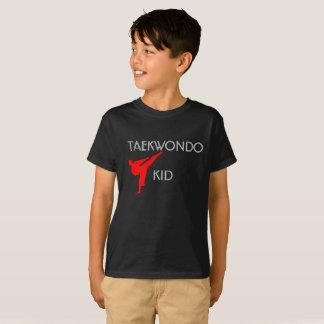 T-shirt de Hanes TAGLESS® des enfants du Taekwondo