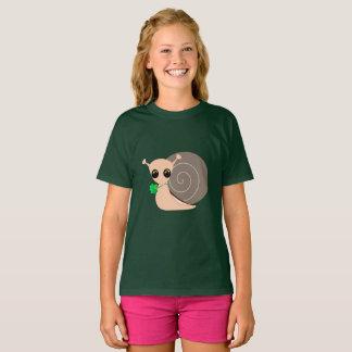 T-shirt de Hanes TAGLESS® des filles - escargot