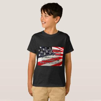 T-shirt de Hanes TAGLESS® du serment de fidélité