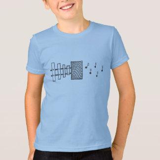 T-shirt de haut-parleur de xylophone