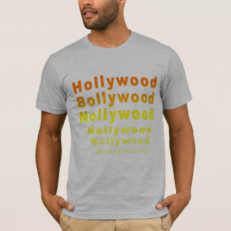 T-shirt de Hollywood Bollywood Nollywood