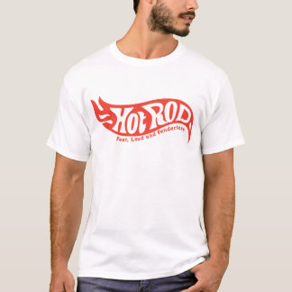 T-shirt de hot rod