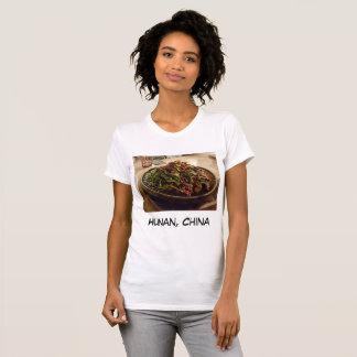 T-shirt de Hunan, Chine