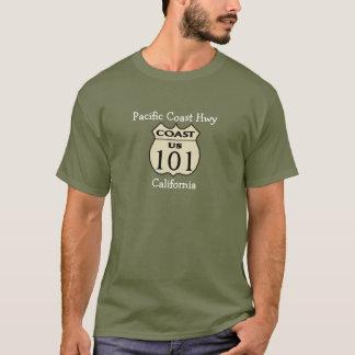 T-shirt de Hwy- de Côte Pacifique