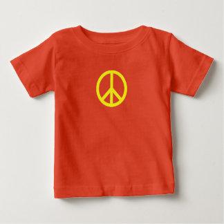 T-shirt de jersey d'amende de bébé de signe de