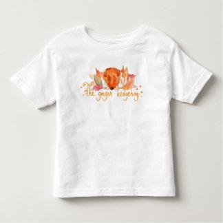 T-shirt de jersey d'amende d'enfant en bas âge