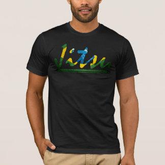 T-shirt de Jiu Jitsu de Brésilien de manuscrit de