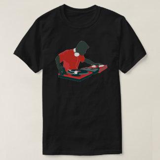 T-shirt de jockey de disque du DJ
