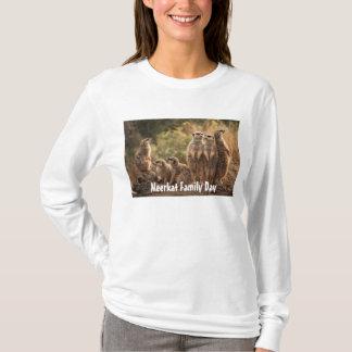 T-shirt de jour de famille de Meerkat