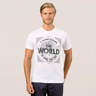 T-shirt de jour de la terre