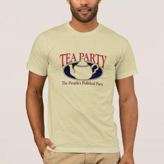 T-shirt de jour d'impôts de thé