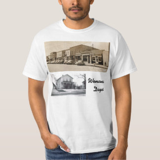 T-shirt de jours de Wenona