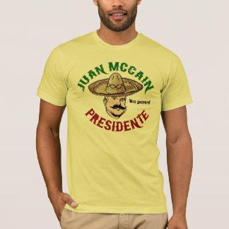 T-shirt de Juan McCain
