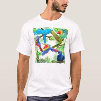 T-shirt de jungle d'ara