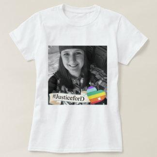T-shirt de #JusticeForD