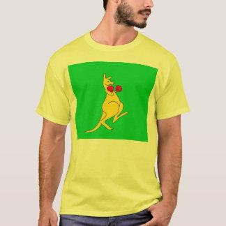 T-shirt de kangourou de boxe