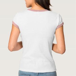 T-shirt de la bande des femmes avec l'équilibre